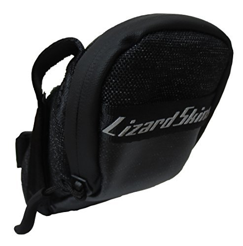 (Lizard Skins Micro Cache Saddle Bag Jet Black, One Size)