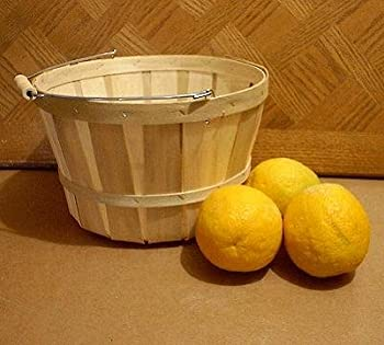 One Dozen Peck or Apple Baskets With Wooden Spool Handle