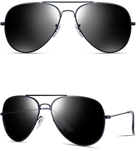 all black aviator sunglasses xqyx  ATTCL sunglasses