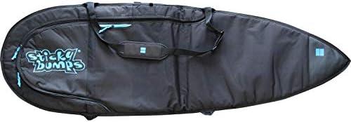 Sticky Bumps Dayrunner ブラック スラスター サーフボード デイバッグ - 6フィート6インチ