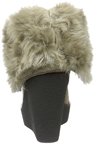 Buffalo London 415-1875 Cow Suede, Botines para Mujer Taupe