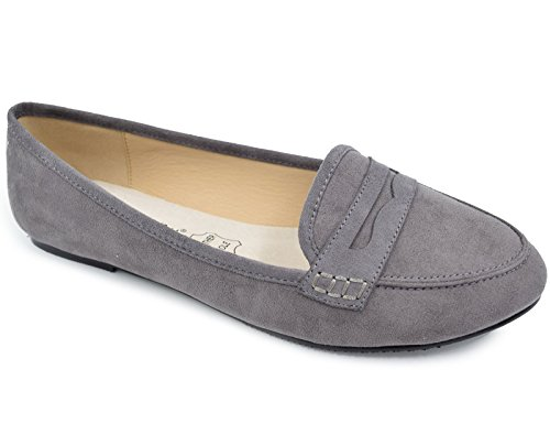 Greatonu-Womens-Faux-Suede-Comfort-Slip-on-Penny-Loafer-Flat-Shoes
