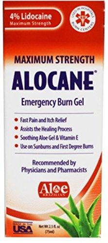 Alocane Emergency Burn Gel - 2.5 oz, Pack of 3