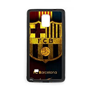 FCB Samsung Galaxy Note 4 Cell Phone Case Black JU0042213