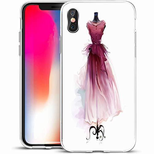 - Ahawoso Custom Phone Case Cover for iPhone X/XS 5.8
