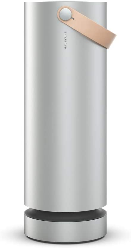 Molekule Air Purifier with PECO Purification Technology, Silver