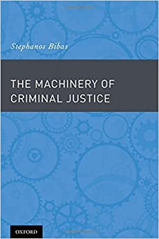 Book The Machinery of Criminal Justice
