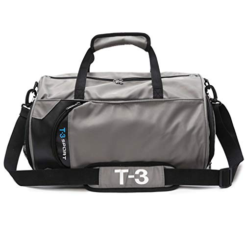 37be3e7b2e21 Fitness Sport Small Gym Bag with Shoes Compartment Waterproof Travel Duffel  Bag for Women and Men Approx 30L