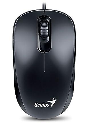 Genius DX-110 Raton /óptico Color Negro