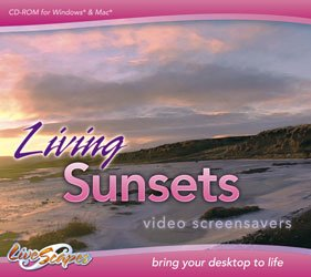 Price comparison product image Living Sunsets Screensavers