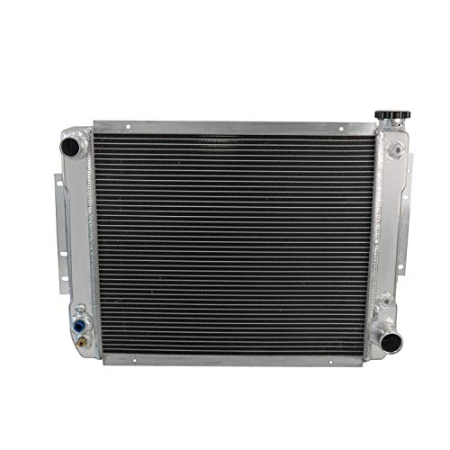 CoolingCare 2 Row Core Aluminum Radiator for Chevy/GM-Style Double Pass Heavy Duty