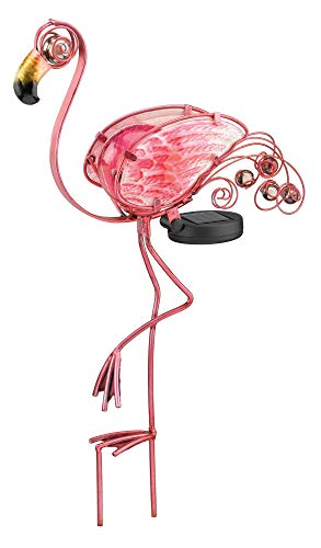 Regal Art &Gift Solar Flamingo Stake]()