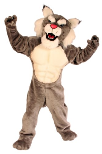 ALINCO Power Cat Bobcat/Wildcat Mascot -