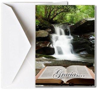 Tarjetas Funerales de Agradecimiento, Tarjetas de Gratitud, Tarjetas de Gracias (25 Cantidad)