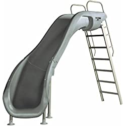 S.R. Smith 610-209-58220 Rogue2 Pool Slide, Left Curve, Gray