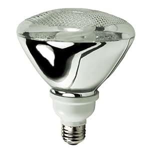 TCP 2P3819-65 - 19 Watt CFL Light Bulb - Compact Fluorescent - PAR38 - 85 W Equal - 6500K Full Spectrum Daylight - Min. Start Temp. - 20 Deg. - 82 CRI - 50 Lumens per Watt - 15 Month Warranty