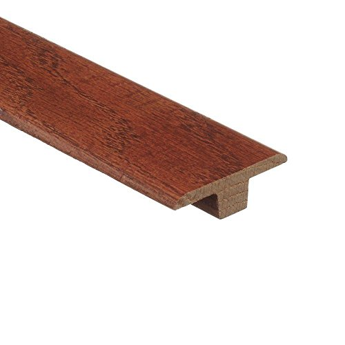 Oak Gunstock 3/8 in. Thick x 1-3/4 in. Wide x 94 in. Length Hardwood T-Molding