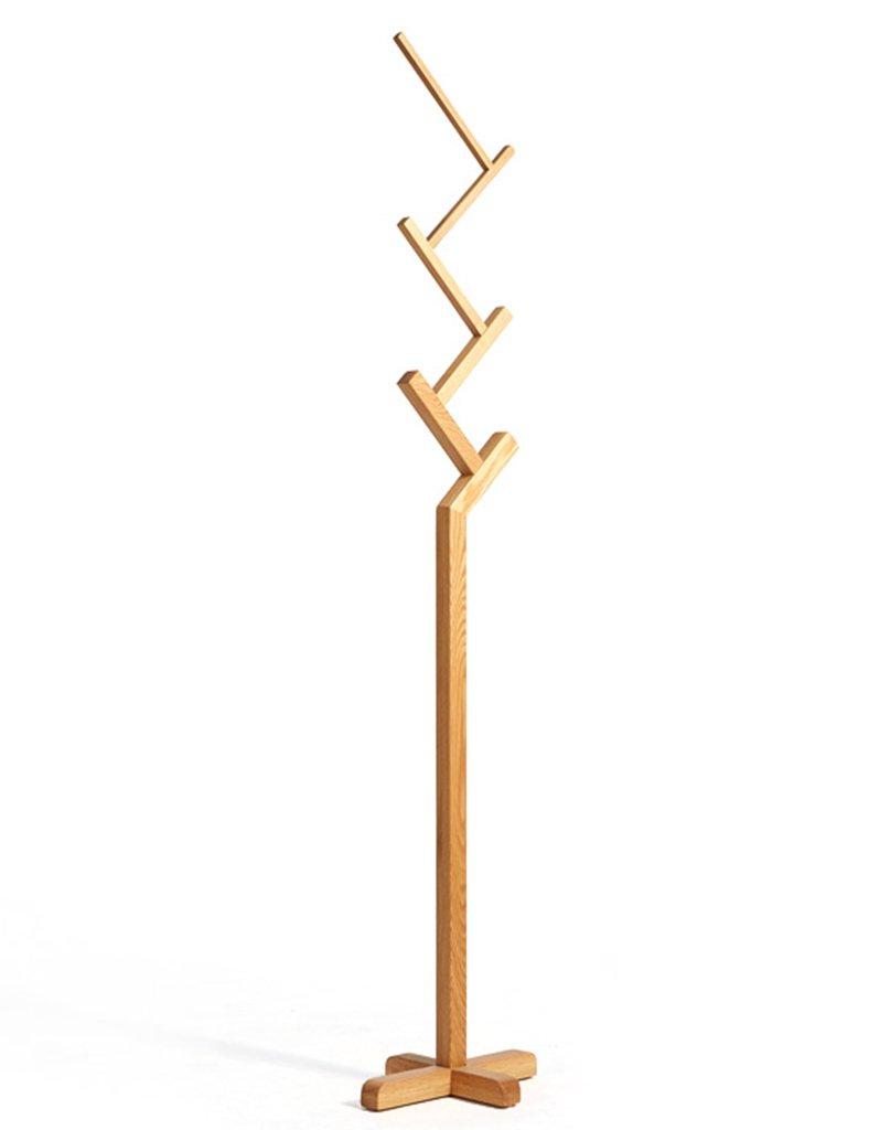 ハンガーラック ヨーロッパの多機能の堅い木の床掛けハンガーベッドルームコートラック フロアラックハンガー ( 色 : #1 ) B079646QB6 #1 #1