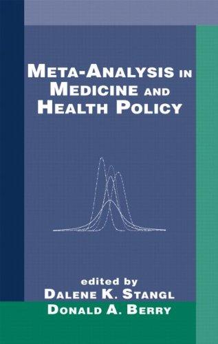 Meta-Analysis in Medicine and Health Policy (Chapman & Hall/CRC Biostatistics Series)