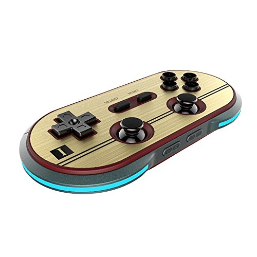 8Bitdo F30 Pro Wireless Bluetooth Controller Game Gamepad Retro Styled for Android / MacOS / ()