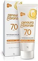 Protetor Solar Loção Cenoura e Bronze 50g FPS 70 Facial Unit