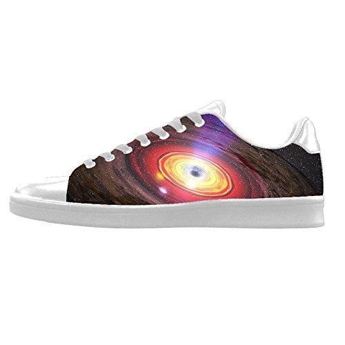 Custom Universum Platte Mens Canvas shoes Schuhe Lace-up High-top Sneakers Segeltuchschuhe Leinwand-Schuh-Turnschuhe D