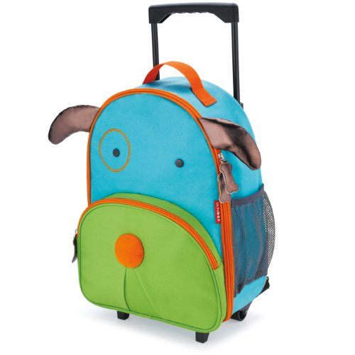 Skip Hop Kids Luggage with Wheels, Dog ()