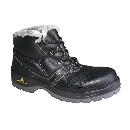 Zapatos de seguridad de invierno piratear trabajo. forradas en piel de SRC PELO S3 anorak