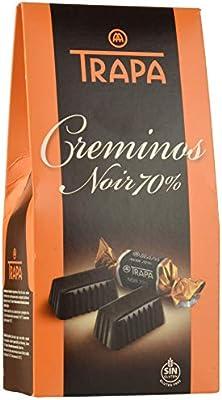 Trapa Creminos Noir 70% Bolsa de Bombones - 48 gr: Amazon.es ...