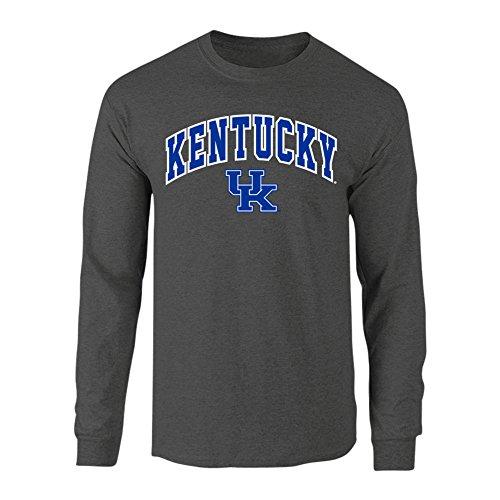 Kentucky Wildcats Long Sleeve Tshirt Charcoal - L