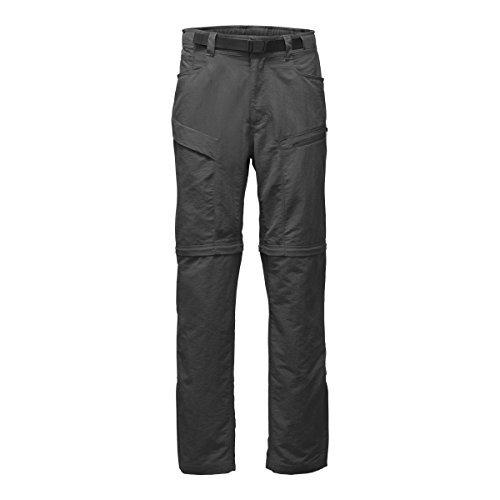 North Face Pants Rain (The North Face Men's Paramount Trail Convertible Pants - Asphalt Grey - 2XL (Long))