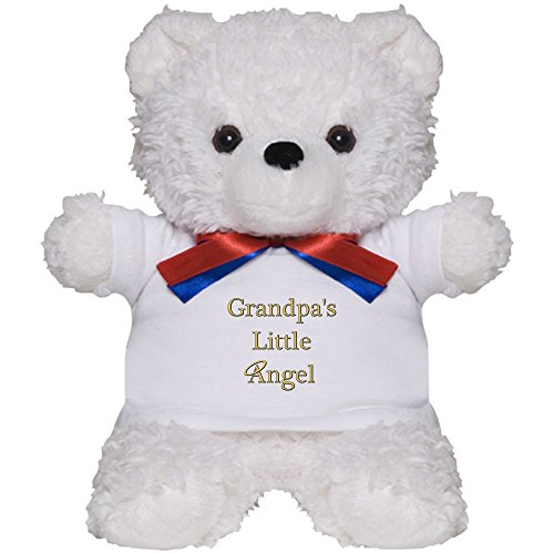 CafePress - Grandpa's Angel - Teddy Bear, Plush Stuffed Animal ()