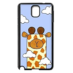 Cute animal giraffe Case Cover Best For Samsung Galaxy NOTE4 Case Cover FKLB-T526553
