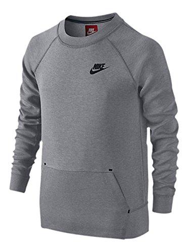 0c6a68f609d7 Amazon.com  NIKE Tech Fleece Big Kids  (Boys ) Crew Sweatshirt (Medium