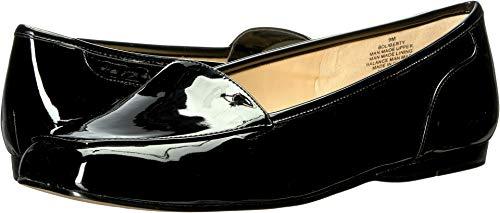 Bandolino Women's Liberty Flat Black Patent 7.5 M US M