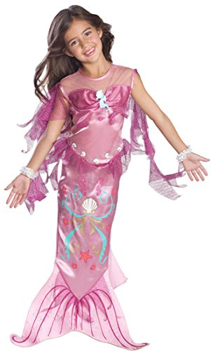 Mermaid Costumes For Little Girl (Child's Pink Mermaid Costume, Small)