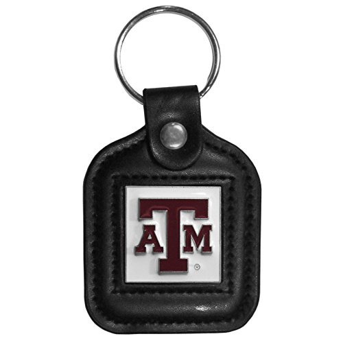 Siskiyou NCAA Square Key Chain Texas A & M Aggies, Black