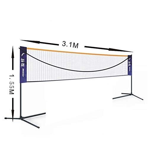 Awazoy Set de Badminton Compact Incluye Red Raquetas y Volantes portátil Puede Elegir el tamaño por Awazoy
