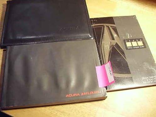 1996 acura tl owners manual acura amazon com books rh amazon com 2008 Acura TL 1997 Acura TL