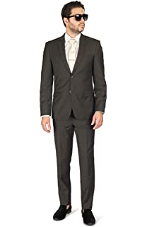 Amazon.com: AZAR MAN Slim Fit Traje de solapa para hombre ...