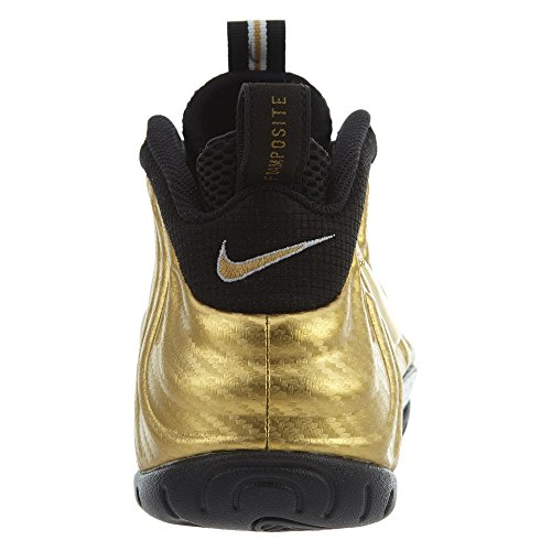 Air 41 basketball Eu Gold 5 blac Sport Metallic Pro black Homme De Nike Chaussures Foamposite dqYxdFZ
