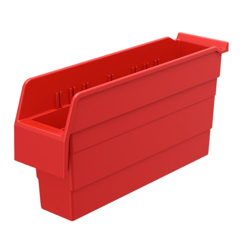 AKRO-MILS 30846 ShelfMax 8 Plastic Nesting Shelf Bin Box,...