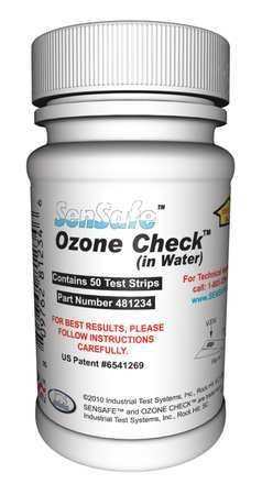 Test Strips, Ozone, 0 to 0.5ppm, ()