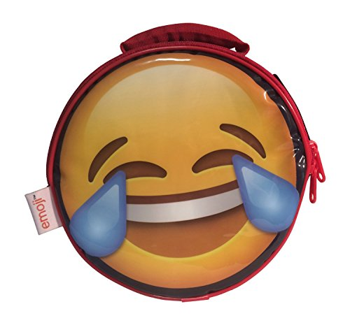 Emoji round lunch box