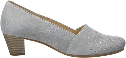 Gabor Damen Comfort Basic Pompen Grijs (lichtgrijs (motief))