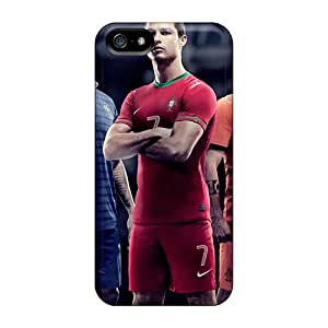New Snap-on STWanke Skin Case Cover Compatible With Iphone 5/5s- Euro 2012 Teams