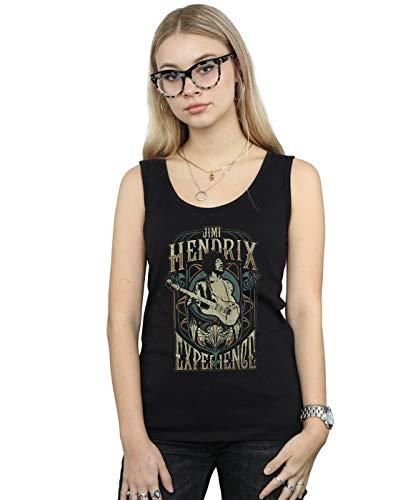 Absolute Jimi Negro Tank Hendrix Experience New Mujer Cult Top SS1wrZO