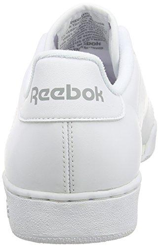 Reebok Damen NPC II Ne Sneakers Weiß (White/Flat Grey)