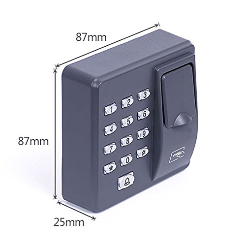 Fingerprint access control machine with keypad fingerprint scanner for RFID door access control system