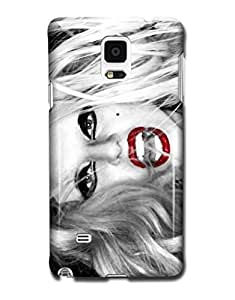 Tomhousomick Custom Design Women's Fashion Cases Sexy Singer Lady Gaga Case for Samsung Galaxy Note 4 IV Back Cover #234 Kimberly Kurzendoerfer